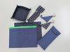 デニム・ちりめん素材を活用したグッズ、ノベルティの製作